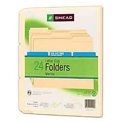 Smead Manila Folders Letter Size Pack