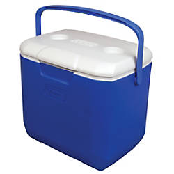 Coleman 30 Quart Cooler Blue