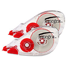 Integra Dispensing Correction Tape Holds Total