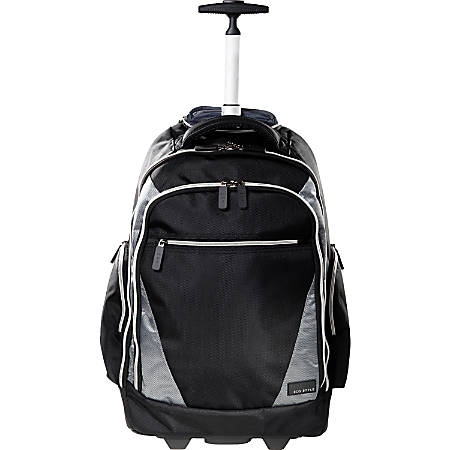 ECO STYLE Rolling Laptop Backpack