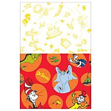 Amscan Dr Seuss Plastic Table Covers
