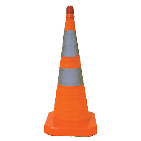 "Aervoe® Collapsible Safety Cone, 28"", Orange"