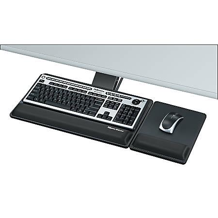 Fellowes® Designer Suites™ Premium Keyboard Tray, Black