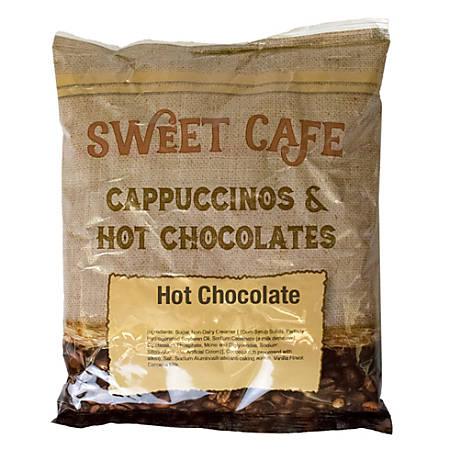 Sweet Café Hot Chocolate, 32 Oz Per Bag, Case Of 12 Bags