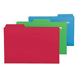 Smead FasTab Hanging File Folders Legal