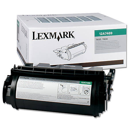 Lexmark Original Toner Cartridge - Laser - 32000 Pages - Black - 1 Each