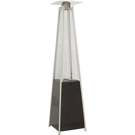 Hanover 7-Ft. Pyramid Propane Patio Heater in Black