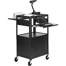 Bretford CA2642DNSE Multimedia Cabinet Cart Up
