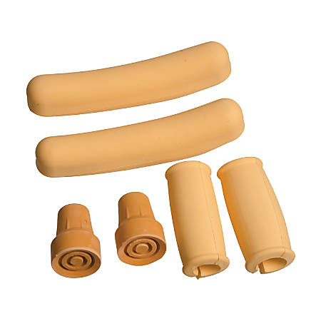 DMI® Split-Handgrip Crutch Accessory Kit, Beige