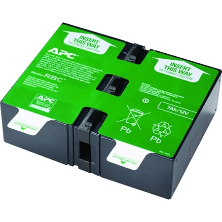 APC APCRBC123 Replacement UPS Lead Acid Battery Cartridge, Number 123 Item  # 377849
