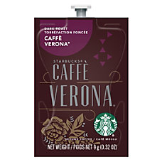 Starbucks Coffee Cafe Verona Single Serve
