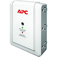 APC Essential SurgeArrest P6W 6 Outlet