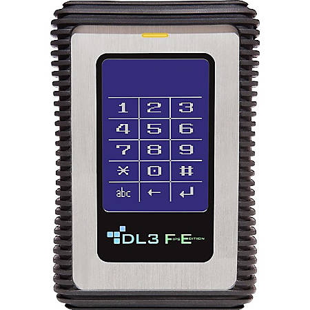 DataLocker DL3 FE (FIPS Edition) 2 TB Encrypted External Hard Drive