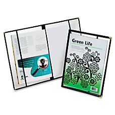 Oxford Heavy Poly Magazine Covers Clear