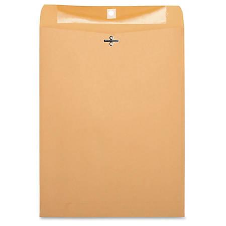 "Business Source Heavy-duty Clasp Envelopes - Clasp - #97 - 10"" Width x 13"" Length - 28 lb - Clasp - Kraft - 100 / Box - Kraft"