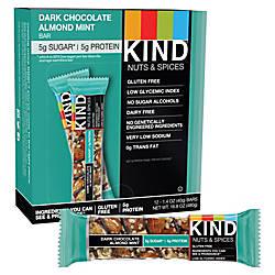 KIND Dark Chocolate Almond Mint Bars