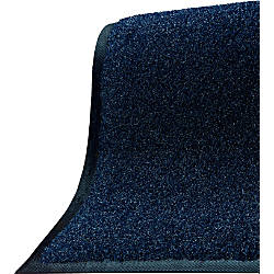 M A Matting Brush Hog Floor Mat 48 X 240 Navy Brush