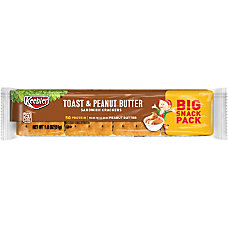 Keebler Sandwich Crackers Toast And Peanut