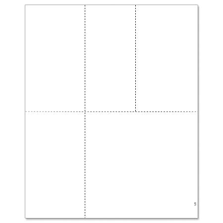 """ComplyRight™ W-2/1099 Inkjet/Laser Blank Tax Forms, 4-Up, 8 1/2"""" x 11"""", Pack Of 50 Forms"""