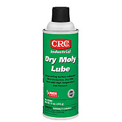CRC Dry Moly Lubricant Aerosol Spray, 16 Oz, Pack Of 12 Cans Item # 378752 | Tuggl