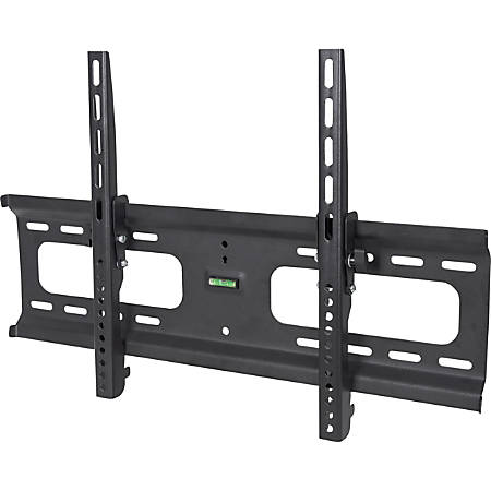 """Manhattan Universal Tilting Wall Mount - Supports One 37"""" - 70"""" Display up to 165 lbs - 37"""" to 70"""" Screen Support - 165 lb Load Capacity - Steel - Black - Meets VESA Standards - UL Listed - 0° to -10° Tilt Adjustment"""