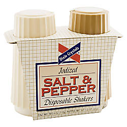 Dixie Crystals Salt And Pepper Shaker