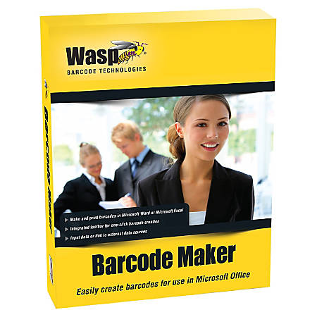 Wasp BarCode Maker - Complete Product - 1 PC - Standard