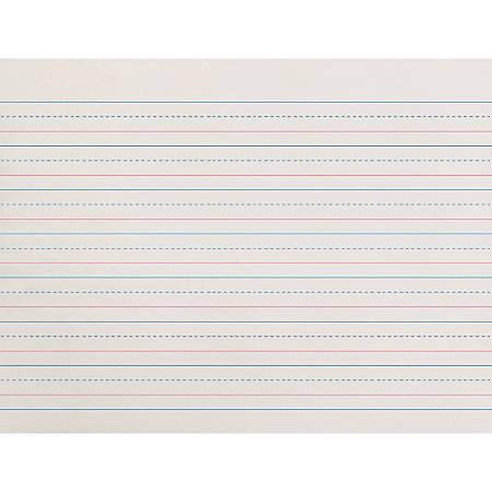 "Pacon® Broken Midline Writing Paper, Grade 1, 5/8"" x 5/16"" x 5/16"""
