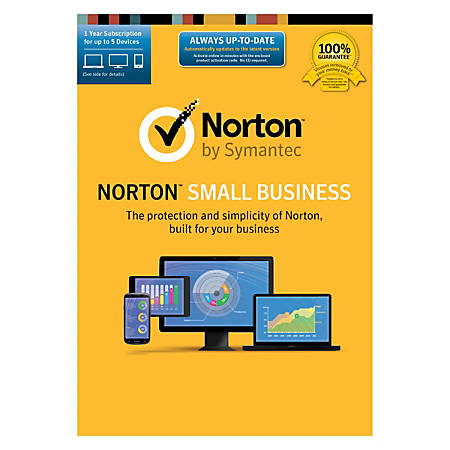 Norton™ Small Business, 5 Users, Download Version