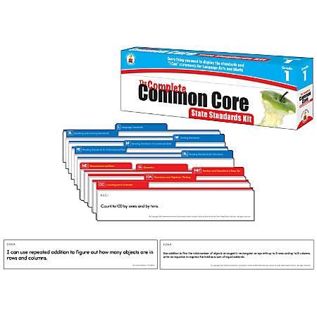 Carson-Dellosa Complete Common Core State Standard Kit, Grade 1