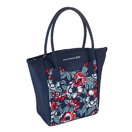 Rachael Ray Milan Insulated Lunch Tote, Navy