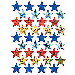 Eureka Sparkle Stickers Stars Pack Of