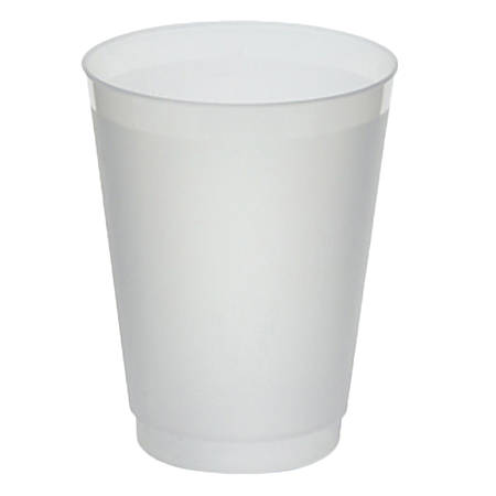 WNA Frost-Flex Frosted Tumblers, 16 Oz, Clear, Pack Of 500 Tumblers