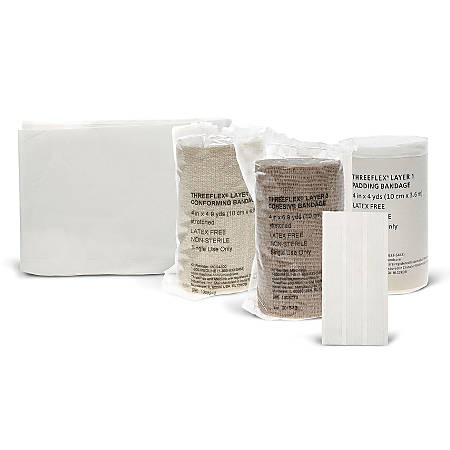 Threeflex 3-Layer Bandage System Kit