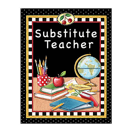 Teacher Created Resources Mary Engelbreit Substitute Teacher Pocket Folders, Pack Of 10