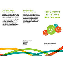 Customizable Trifold Brochure Business Idea And