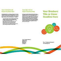 Customizable Trifold Brochure Business Idea And