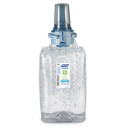 Purell® ADX Advanced Green Certified Gel Instant Hand Sanitizer, 1200 mL Refill, Case Of 3