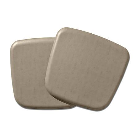 "GelPro NewLife Complete Comfort Seat Cushion, 3/4""H x 16""W x 16""D, Vintage Leather Mushroom"
