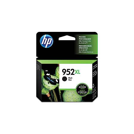 HP 952XL High-Yield Black Ink Cartridge (F6U19AN#140)