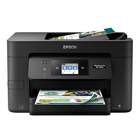 Epson® WorkForce® Pro WF-4720 Wireless All-In-One Printer, Copier, Scanner, Fax