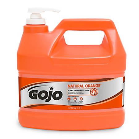GOJO® Natural Orange Pumice Heavy-Duty Hand Cleaner, 1 Gallon, Carton Of 4
