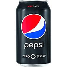 Pepsi Max Zero Calorie Cola Soda