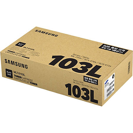 Samsung MLT-D103L High-Yield Black Toner Cartridge