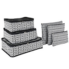GNBI 6 Piece Packing Cubes And