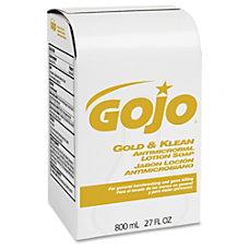 Gojo Gold Klean Antimicrobial Lotion Soap