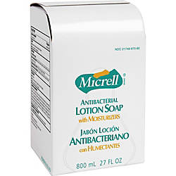 Micrell Antibacterial Lotion Dispenser Refill 800mL