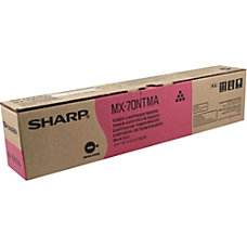 Sharp MX 70NTMA Original Toner Cartridge