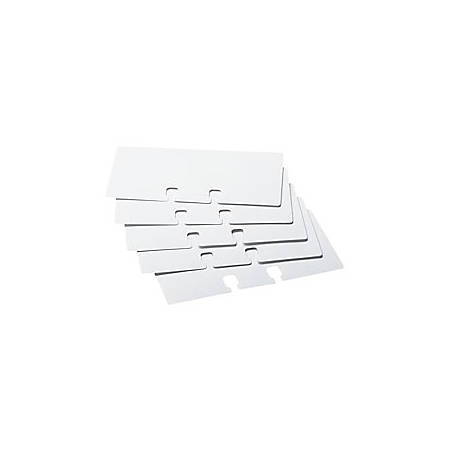 """Rolodex® Card File Refills, Unruled, 2 1/4"""" x 4"""", White, Pack Of 100"""