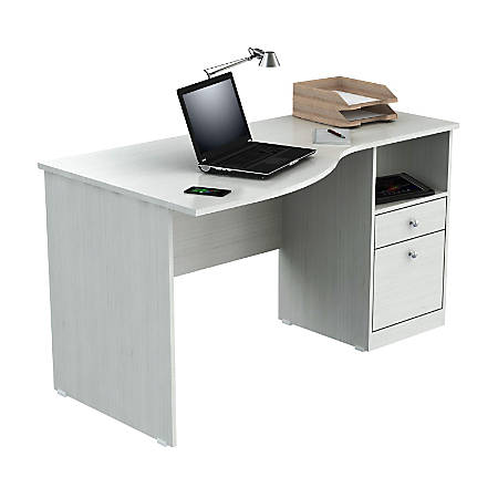 Inval Laura Curved Top Computer Desk